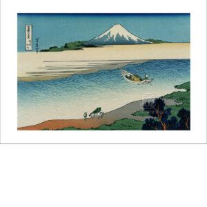 Hokusi - Am Fluss Tama, Provinz Musash - Reproduktion Schindelbeck Art