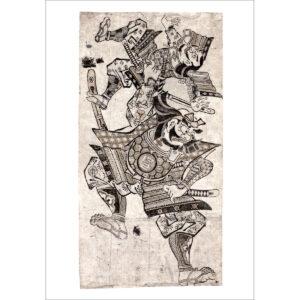 Okumura Masanobu Samurai Benkei auf Schindelbeck ART