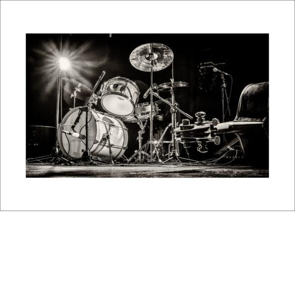 Schlagzeug und Bass - Photo: Frank Schindelbeck Jazzfotografie