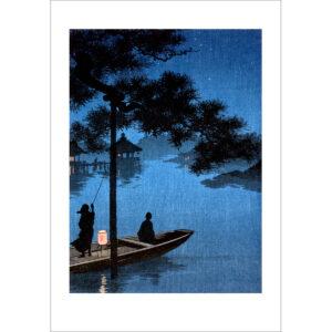 Shoda Koda - Am Biwa See - Reproduktion Schindelbeck Art