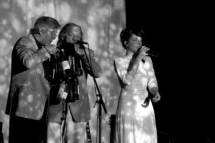 Meret Becker auf der Bühne