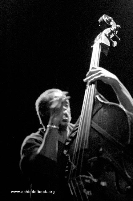 Bassist Alex Blake - Fotografie von Frank Schindelbeck Photography