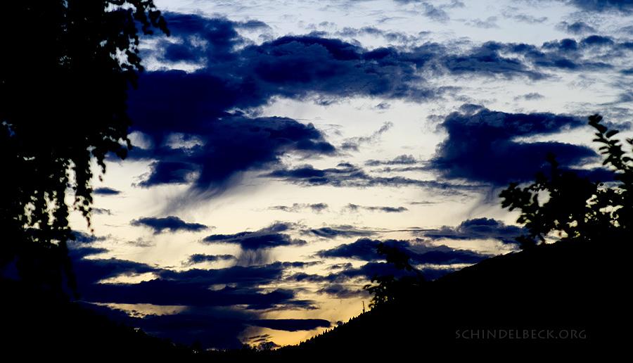 Himmel über Neckarsteinach - Foto Schindelbeck