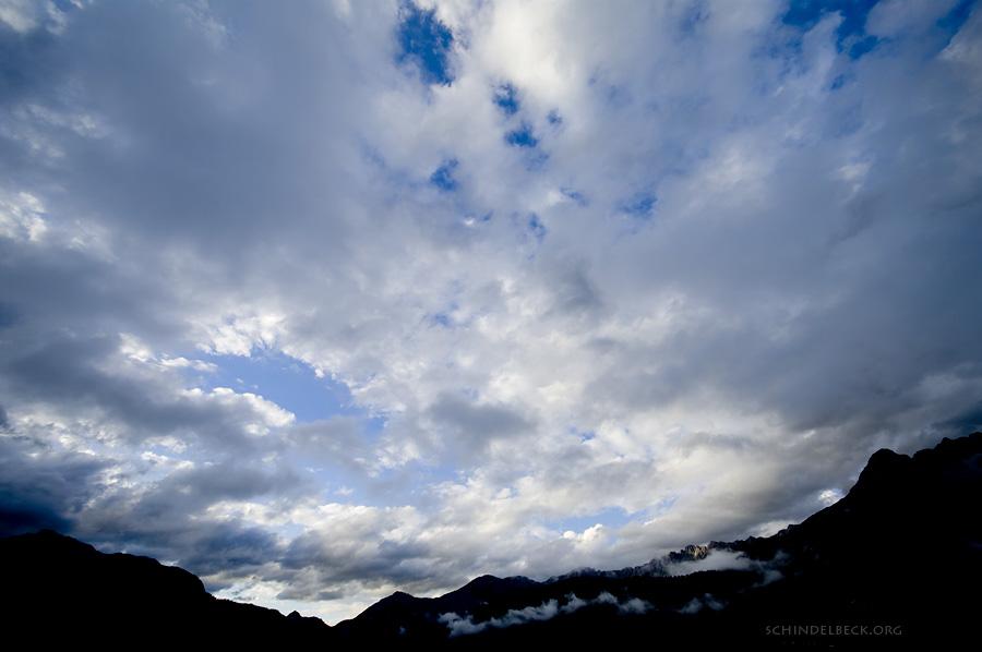 Himmel über Saalfelden - Foto Schindelbeck