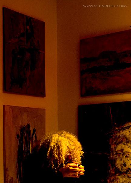 Lömsch Lehmann im Atelier 47 in Ladenburg - Eine Fotografie von Frank Schindelbeck