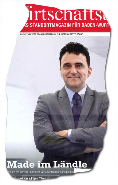 Made im Ländle - Titel-Wirtschaftsblatt