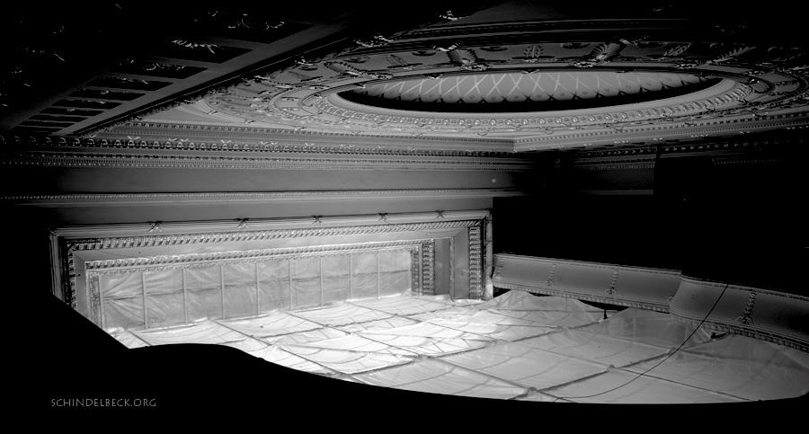 Theater der Stadt Heidelberg wird saniert - Foto Schindelbeck